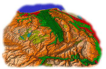 image topographical 3d
