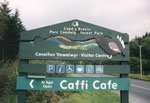 CYB centre road sign